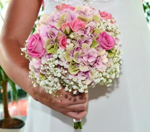 Svatební kytice | Autor: Magda Lebišová