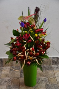 Dárkové květiny   Autor: Magda Lebišová