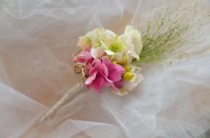 Korsáž pro ženicha | Autor: Magda Lebišová