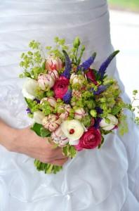 Svatební květiny | Autor: Magda Lebišová