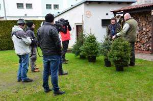 Z televizního natáčení   Rozkvetlý domov Žďár nad Sázavou